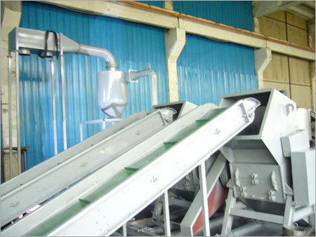 Plastic Crushing Recycling Line