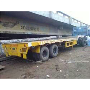 SEMI PLATE FORM TRAILER