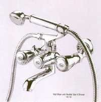 Wall Mixer With Flexible Tubed Shower Continental