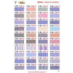 Heavy PC Stripe Shirting Fabrics