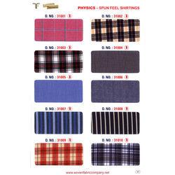 Spun Feel Shirtings Fabric