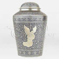 Angel in Prayer Brass Metal Cremation Urn