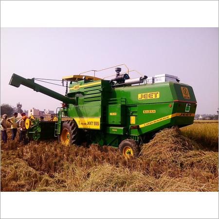 Combine Rice Harvester