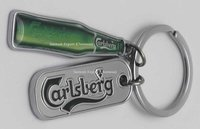 Enamel Filled Metal key chains