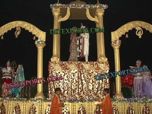 INDIAN WEDDING HYDROLIC JAI MALA STAGE