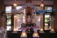 WEDDING LIGHTED ROMAN STAGE SET