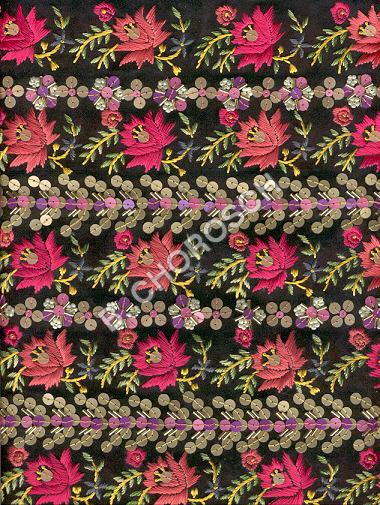 Embroidered Straw Work