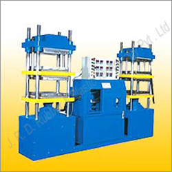 Double Daylight Compression Moulding Machine