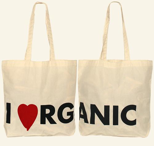 Printed Organic Cotton Bag