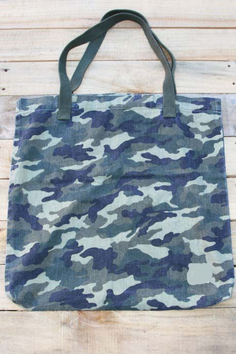 Camouflage Cotton Bag