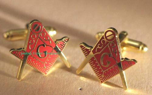 Masonic Cufflink