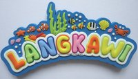 Metal Printed Fridge Magnet