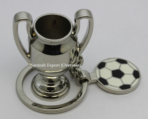 Football Key Chains - Metal