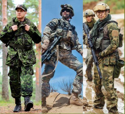 Army Uniforms & Fabrics