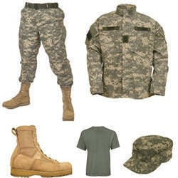 Terry Cotton Army Uniforms & Fabrics