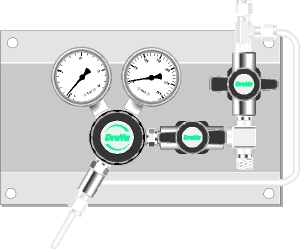 Gas Supply Panels