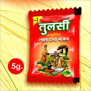 Tulsi Red Tooth Powder