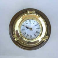 Nautical Porthole Clock