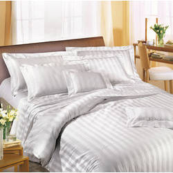 250 TC Satin Bed Linen & Bed Sheet