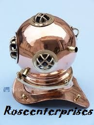 Nautical Home Decor Mini Diving Helmet