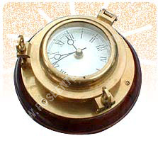 Porthole Nautical Clock