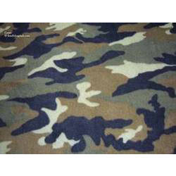 Polyester Cotton Camouflage Fabrics