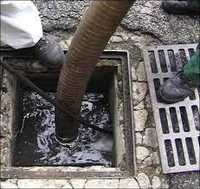 Company Chambers Sludge Cleaning