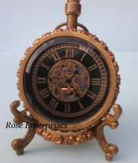 Antique Standing Nautical Clock