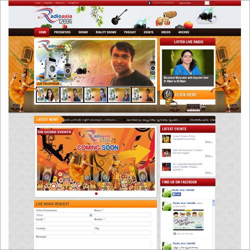 Interactive Web Designing Services
