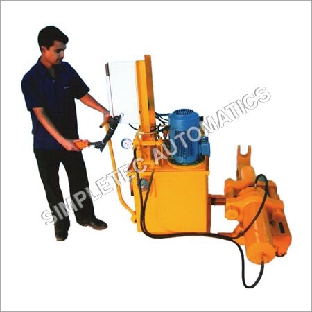 Portable Track Pin Press