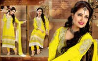 Designer Krachi Style Pure Georgette Salwar Kameez Suit