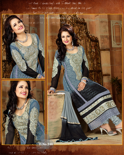 Krachi Style Pure Georgette Salwar Suit