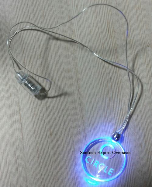 LED Flashing Necklace