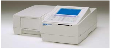 SHIMADZU SINGLE BEAM UV-SPECTROPHOTOMETER