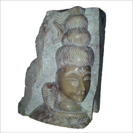 Stone Shiva Sculpture