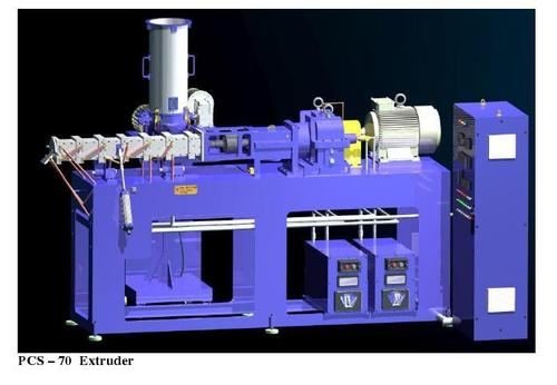 Single Screw Reciprocating Extruders