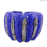 Silver Diamond Bangle Jewelry