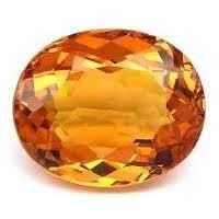 Natural Semi-Precious Citrine gemstone