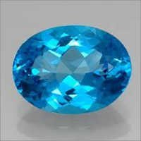 Natural Semi-Precious Blue Topaz gemstone