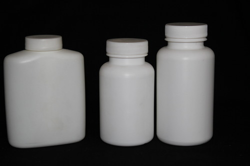 Tablet container with screw cap