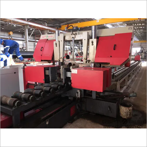 Pipe Cutting Band Saw Machine