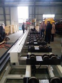 High Speed Pipe Spool Fabrication Cutting Machine