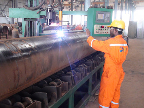 Roller Bench Type Pipe Plasma Beveling and Cutting Machine