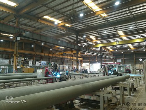 Pipe Fabrication Production Line