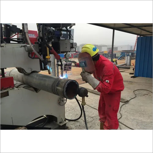 Automatic Pipe MIG Welding Machine