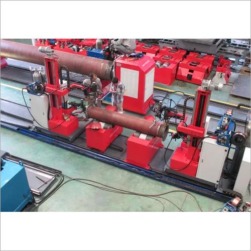 Slip On Flange Pipe Automatic Welding Machine