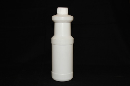 Narrow mouth ridged bottle