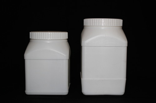 Large jars for powder