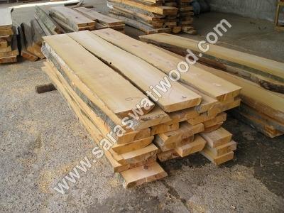Rectangular Steamed Beech Wood