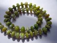 Yellow opal Beads